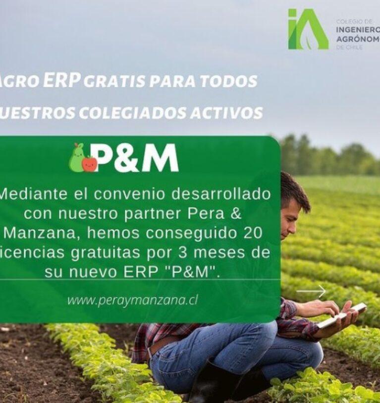 20 licencias gratuitas por 3 meses de ERP/ Pera & Manzana